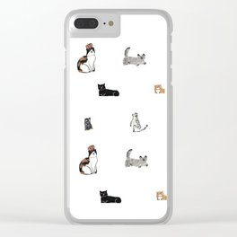 Freddie and his Cats Clear iPhone Case