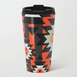 Aztec geometry Travel Mug