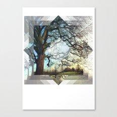 Geo Tree Canvas Print