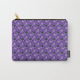 Circles - Large Format Carry-All Pouch