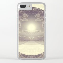 Heart of the Wild Clear iPhone Case