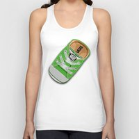 vans Tank Tops featuring Cute Green Vans all star baby shoes apple iPhone 4 4s 5 5s 5c, ipod, ipad, pillow case and tshirt by Three Second