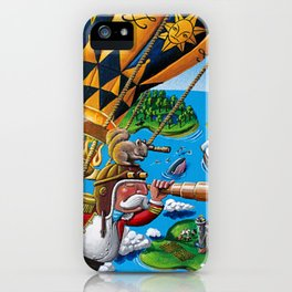 The Balloon Adventure iPhone Case