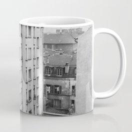 Uitzicht vanuit het appartementencomplex, Bestanddeelnr 252 9292 Coffee Mug