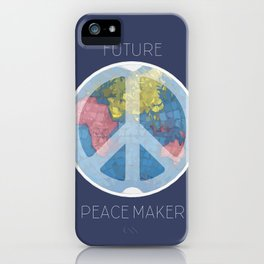 Future Peace Maker iPhone Case
