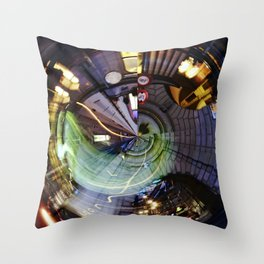 Large Hadron Collider in Bern Throw Pillow
