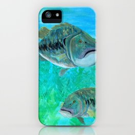 Bass Pairs iPhone Case