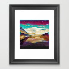 View From The Bridge Framed Art Print