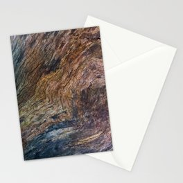 Old Wood Texture-Tree-Organic-Nature Stationery Cards