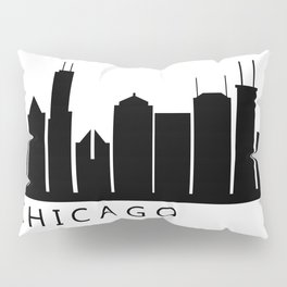 chicago skyline Pillow Sham