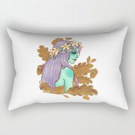 Golden Dryad Rectangular Pillow