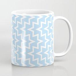 Sea Urchin - Light Blue & White #512 Coffee Mug