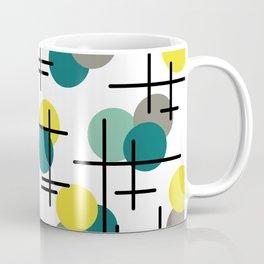 Atomic Age Molecules Coffee Mug