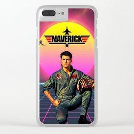 Maverick Clear iPhone Case
