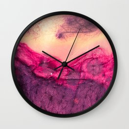Sunny Spring | Abstract Wall Clock