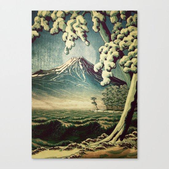 5 Lakes at Moonlight Canvas Print