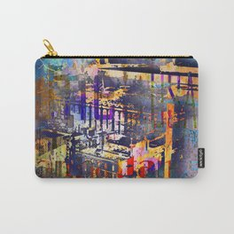New York City Abstract Artist Gift 3 Carry-All Pouch