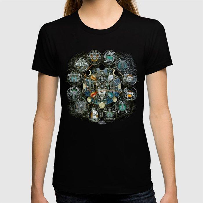 """""""Astrological Mechanism - Zodiac"""" T-shirt"""