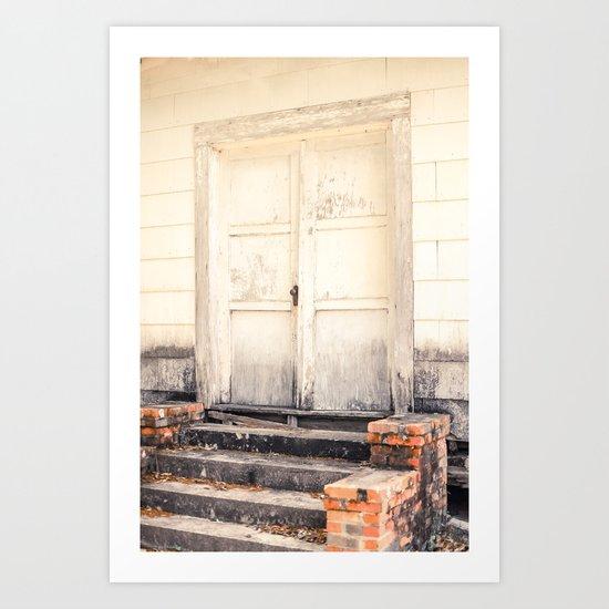 Closed Down Art Print