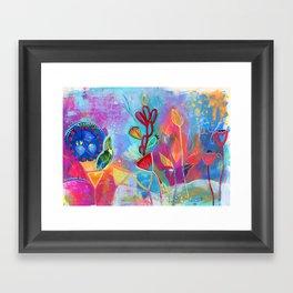 Bloom Song Framed Art Print