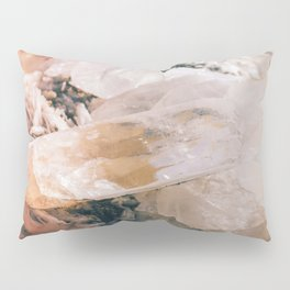 Dreamy Large Quartz Crystals Pillow Sham