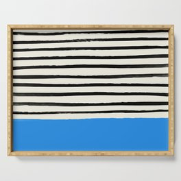 Ocean x Stripes Serving Tray