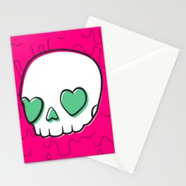Heart Eyes Stationery Cards