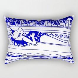 Pool Time Unicorn V2 Rectangular Pillow