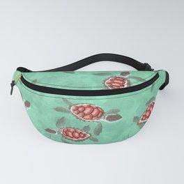 Mnarani baby turtles Fanny Pack