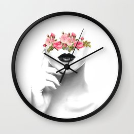 Line of thought Wall Clock