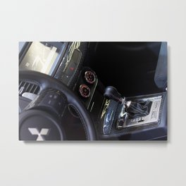 Mitsubishi Lancer Evolution X Exchange Metal Print