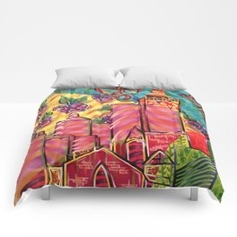 Paint the Town However the Hell You Want Comforters