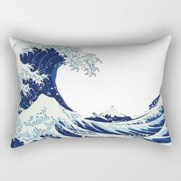 The Big Wave Rectangular Pillow