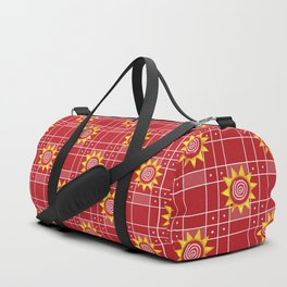 Red Hot Sunny Days Duffle Bag