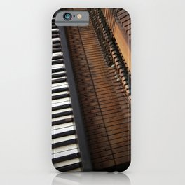 Vintage Upright Piano Number 3 iPhone Case