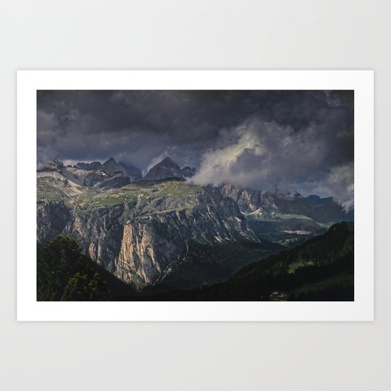 Rugged Terrain Art Print