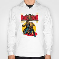 comic Hoodies featuring Doctor Comic by harebrained