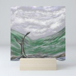 Still landscape Mini Art Print