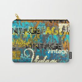 Rusty Vintage Typeface  Carry-All Pouch