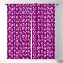 Retroboy Pink Blackout Curtain