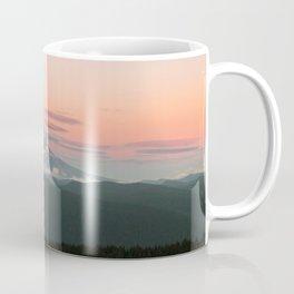 Hood Sunset Coffee Mug