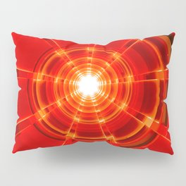 Red Scope Pillow Sham
