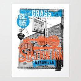 Station Inn - Bluegrass Art Print