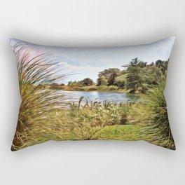 Nature - Sunset Lagoon Rectangular Pillow