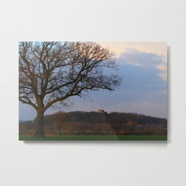 Stafford Castle Site of Ancient Norman Fortress Metal Print