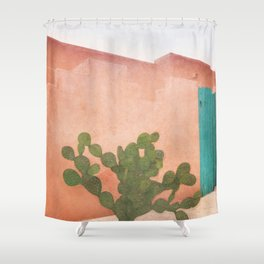 Strong Desert Cactus Shower Curtain