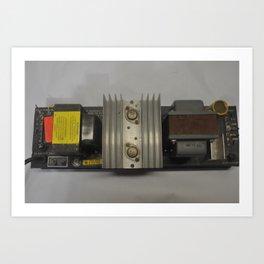 1960's Dukane 110 Watt Power Supply Transformer Art Print