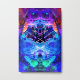 rorscach palais royal brussels belgium ice magic symmetry rorschach caleidoscope 9 Metal Print