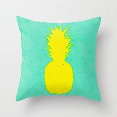 Spring Pineapple Throw Pillow