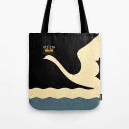 Swan Queen Minimalist art Tote Bag